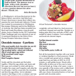 From the menu Life Dom Post June 10