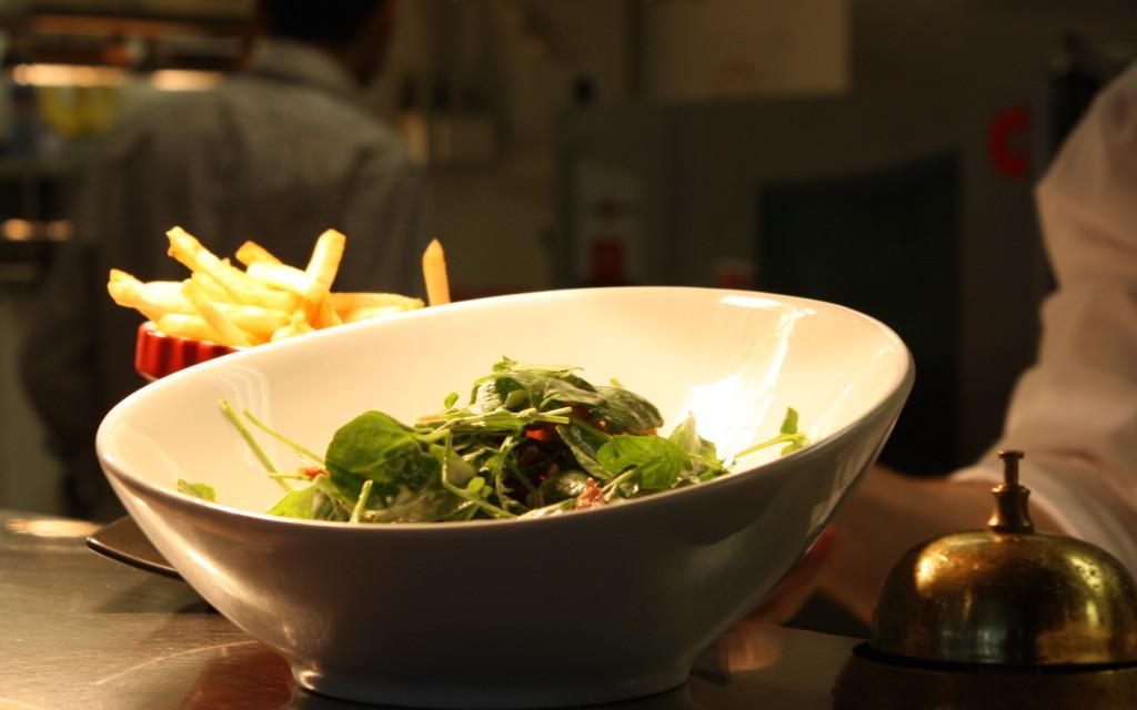 proper mesclun salad